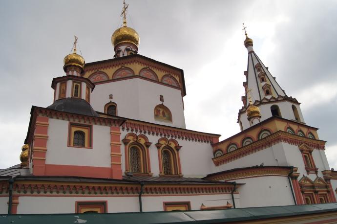 Irkuck - Cerkiew Zbawiciela